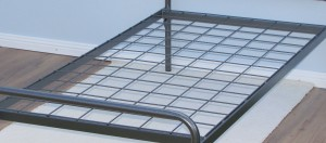Standard Base With Thick Mesh Steel