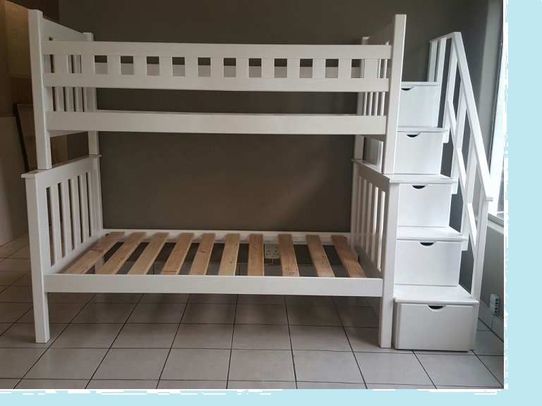 Wooden tri bunk beds for sale in johannesburg 1000 for Cheap designer furniture johannesburg
