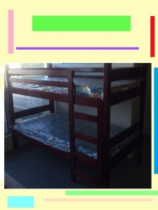 Horizontal Bunk Beds