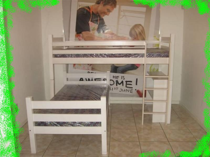 L-shaped Bunk Bed Plan