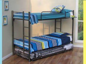 Contemporary Square Bunk Beds