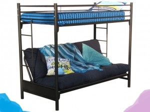 Steel Couch Bunk Beds that Converts into a Double Bed
